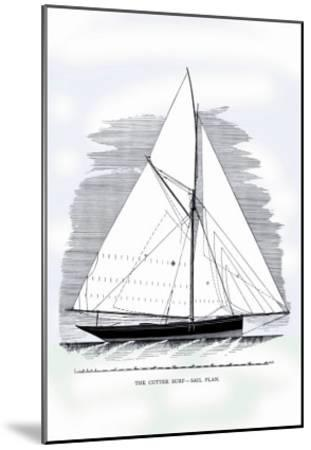 Cutter Surf-Charles P^ Kunhardt-Mounted Art Print