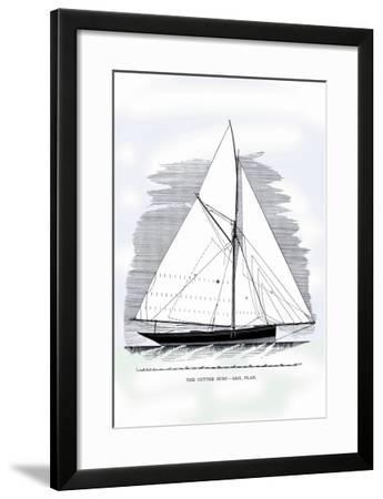 Cutter Surf-Charles P^ Kunhardt-Framed Art Print