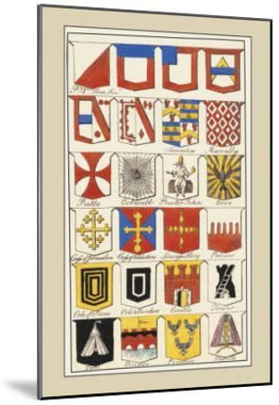 Heraldic Arms: Twemlow and Mascally-Hugh Clark-Mounted Art Print