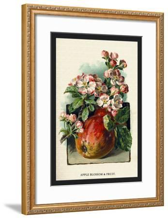 Apple Blossom and Fruit-W^h^j^ Boot-Framed Art Print