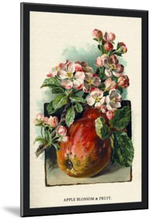 Apple Blossom and Fruit-W^h^j^ Boot-Mounted Art Print
