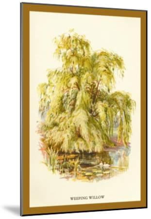 The Weeping Willow-W^h^j^ Boot-Mounted Art Print