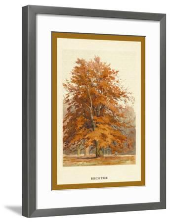 The Beech Tree-W^h^j^ Boot-Framed Art Print