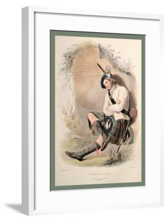MacDonald of Glenco-R^r^ Mcian-Framed Art Print