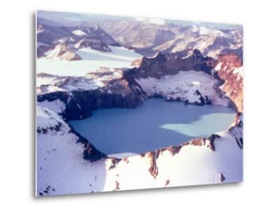 Katmai Crater-Captain Budd Christman-Metal Print