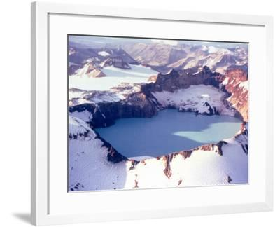 Katmai Crater-Captain Budd Christman-Framed Photo