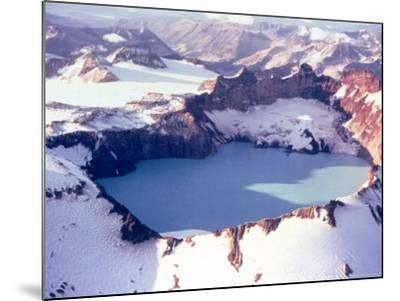 Katmai Crater-Captain Budd Christman-Mounted Photo