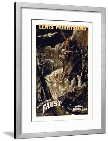 Faust--Framed Art Print