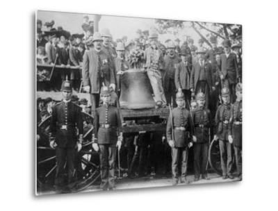 Liberty Bell at Bunker Hill--Metal Print