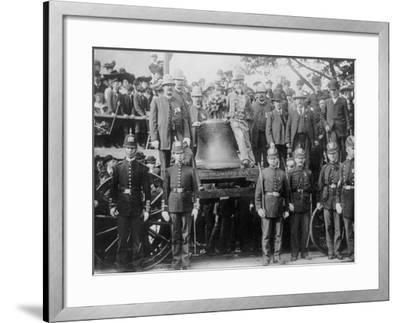 Liberty Bell at Bunker Hill--Framed Photo