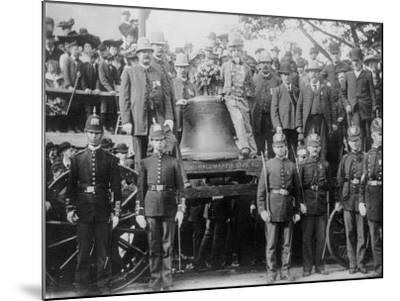 Liberty Bell at Bunker Hill--Mounted Photo