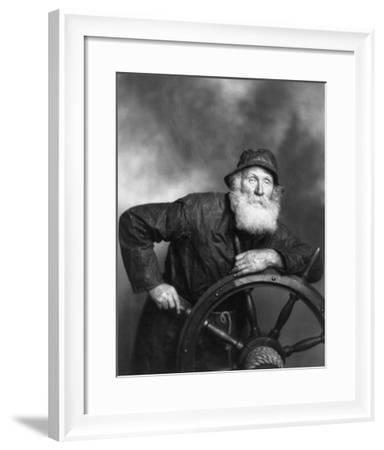 Old Salt--Framed Photo