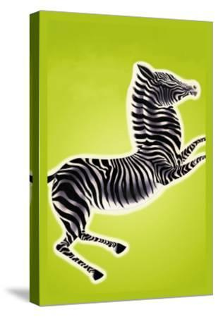 Zebra-Frank Mcintosh-Stretched Canvas Print