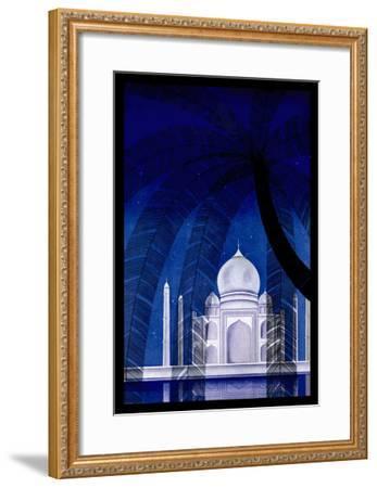 In Agra-Frank Mcintosh-Framed Art Print