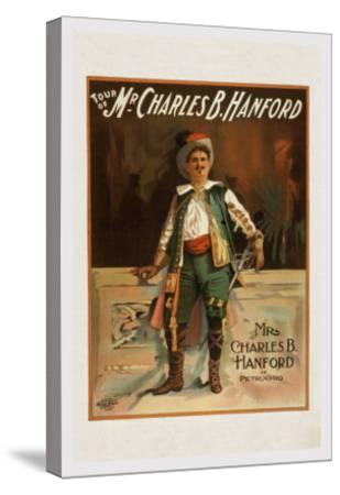 Charles B. Harford in Taming of the Shrew--Stretched Canvas Print