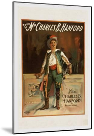Charles B. Harford in Taming of the Shrew--Mounted Art Print