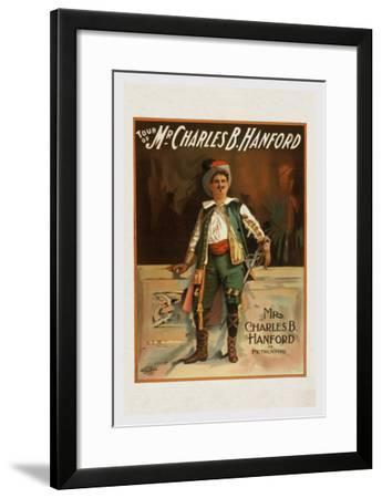 Charles B. Harford in Taming of the Shrew--Framed Art Print