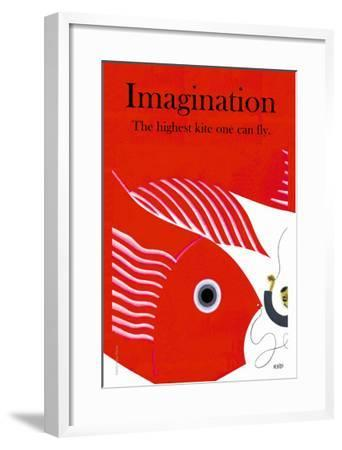 Imagination--Framed Art Print