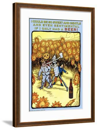 If I Only Had a Beer--Framed Art Print