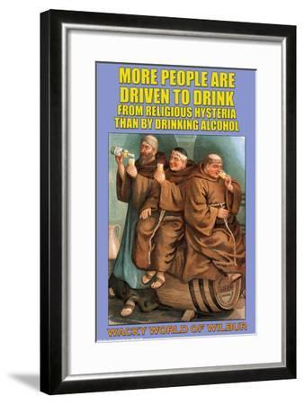 More People--Framed Art Print