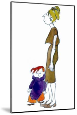 Jake and Mom-Norma Kramer-Mounted Art Print