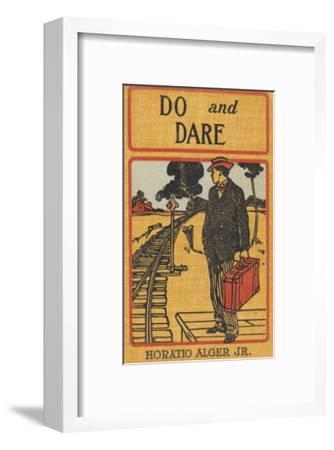 Do and Dare--Framed Art Print