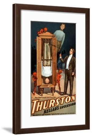 The Prisoner of Canton: Thurston Kellar's Successor--Framed Art Print