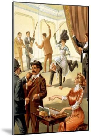Unusual Acts under Hypnosis--Mounted Art Print
