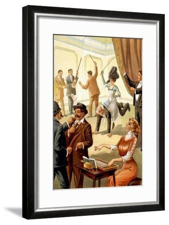 Unusual Acts under Hypnosis--Framed Art Print