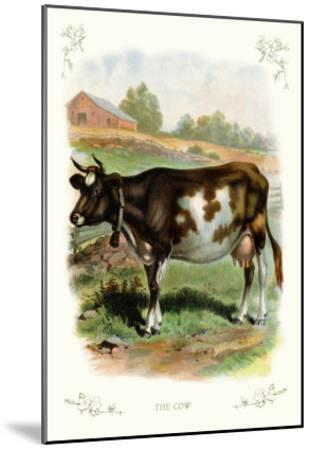 The Cow--Mounted Art Print