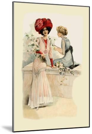 Ladies on the Veranda--Mounted Art Print