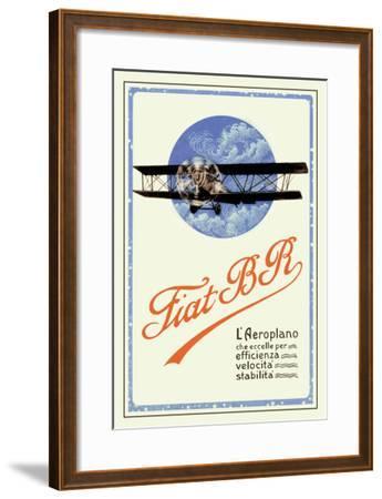 Fiat BR-C^ Milano-Framed Art Print