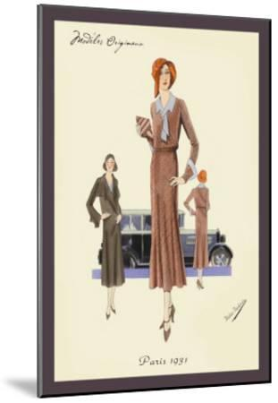 Outfit for a Day Trip--Mounted Art Print