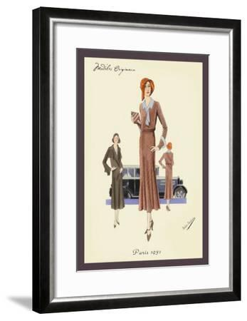 Outfit for a Day Trip--Framed Art Print