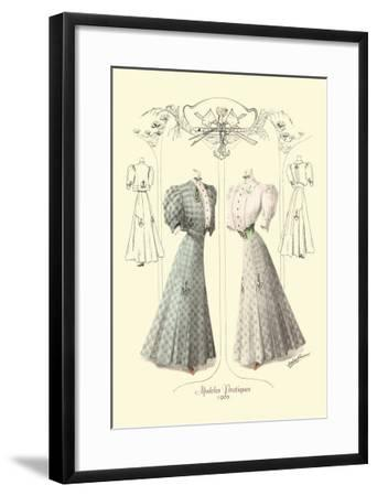 Modeles Pratiques: Nautical Fashions--Framed Art Print
