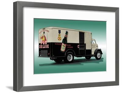 Fox Deluxe Beer Truck--Framed Art Print