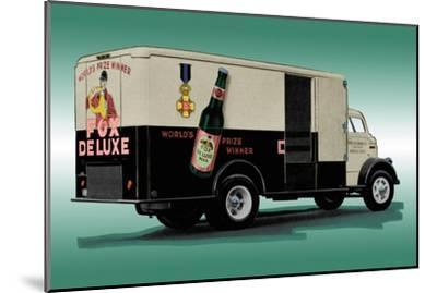 Fox Deluxe Beer Truck--Mounted Art Print
