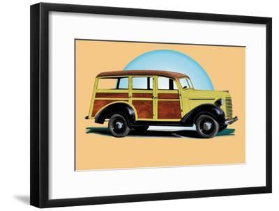 Speedy--Framed Art Print