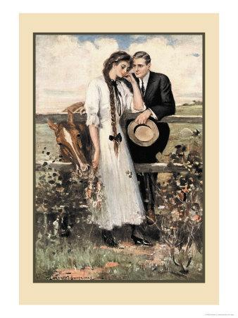 The Countryside-Clarence F^ Underwood-Framed Art Print