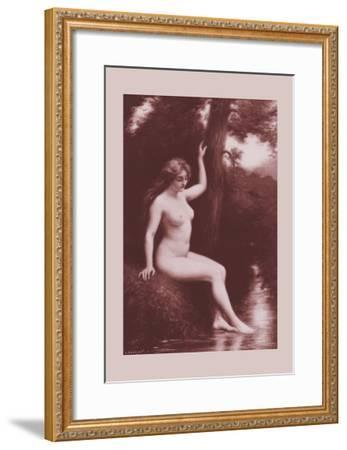 The Stream-A. Hanriot-Framed Art Print