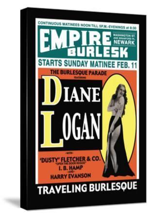 Diane Logan--Stretched Canvas Print