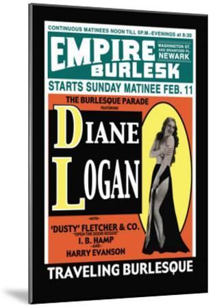 Diane Logan--Mounted Art Print
