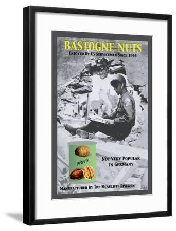 Bastogne Nuts--Framed Art Print