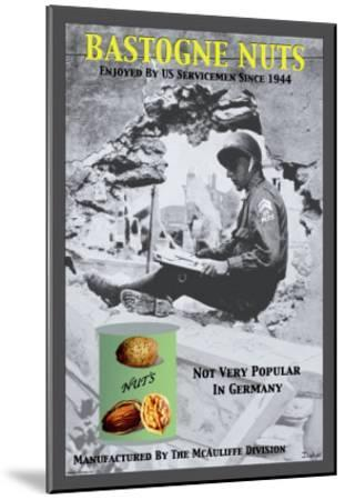 Bastogne Nuts--Mounted Art Print