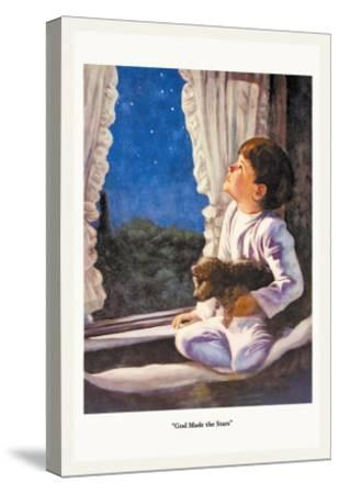 God Made the Stars-M.w. Remington-Stretched Canvas Print