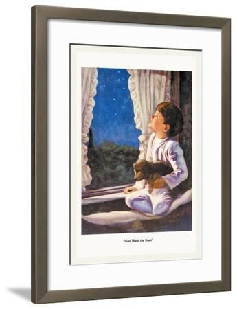 God Made the Stars-M.w. Remington-Framed Art Print