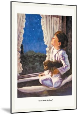 God Made the Stars-M.w. Remington-Mounted Art Print
