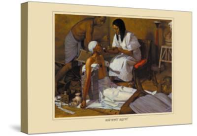Ancient Egypt-Robert Thom-Stretched Canvas Print