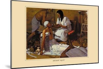 Ancient Egypt-Robert Thom-Mounted Art Print