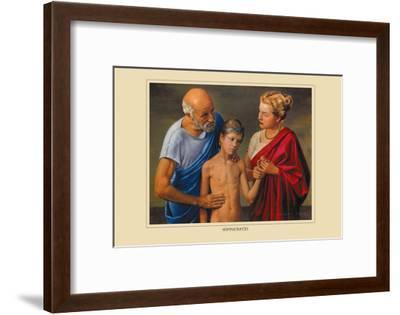 Hippocrates-Robert Thom-Framed Art Print